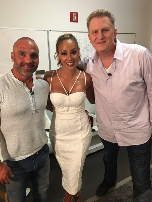 Michael Rapaport and Melissa Gorga on Watch What Happens Live