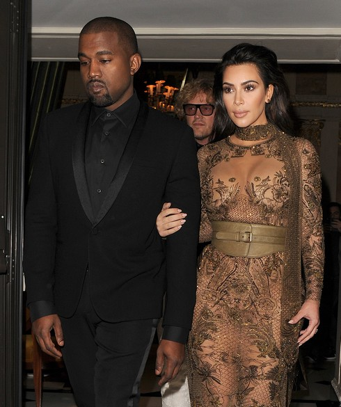 Kim Kardashian and Kanye West leave their hotel and head to the Vogue 100 Gala Dinner, held in Hyde Park Featuring: Kim Kardashian, Kanye West Where: London, United Kingdom When: 23 May 2016 Credit: Will Alexander/WENN.com
