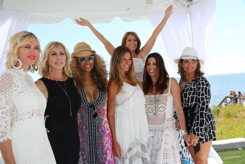 Jill Zarin's 4th. Annual Luxury Event at her Private home in Southampton Featuring: Kristen Taekman, Gwen Gunvalson, Cynthia Bailey, Kelly Bensimon, Jill Zarin, Cindy Barshop, Kathy Wakile Where: Bridgehampton, New York, United States When: 23 Jul 2016 Credit: IZZY/WENN.com