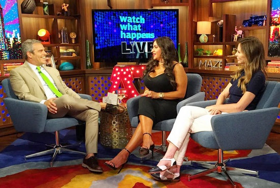 MJ Javid and Carole Radziwill on WWHL