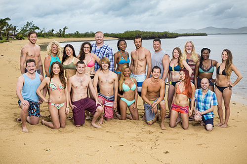 The 20 contestants on SURVIVOR: Millennials vs. Gen. X, when the Emmy Award-winning series returns for its 33rd season with a special 90-minute premiere, Wednesday, Sept. 21 (8:00-9:30 PM, ET/PT) on the CBS Television Network. Photo: Monty Brinton/CBS Entertainment ©2016 CBS Broadcasting, Inc. All Rights Reserved.