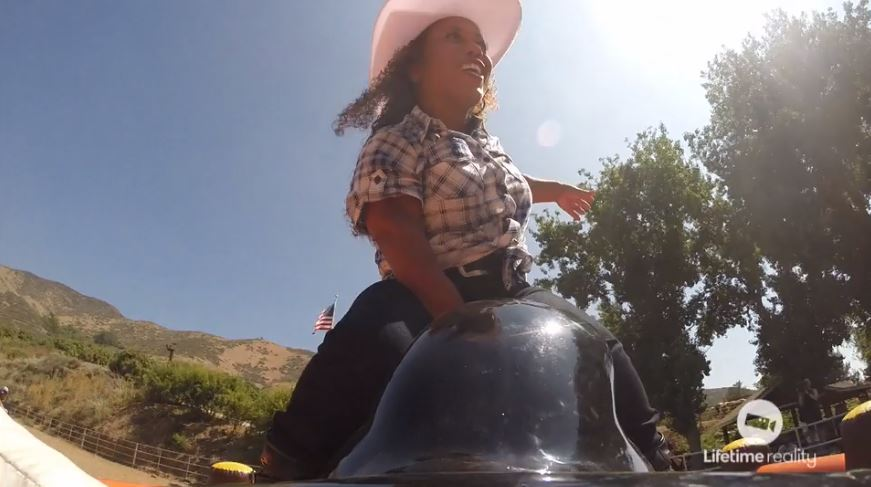 Tonya-Banks-Cowboy-Hat-Mechanical-Bull-Little-Women-LA-001