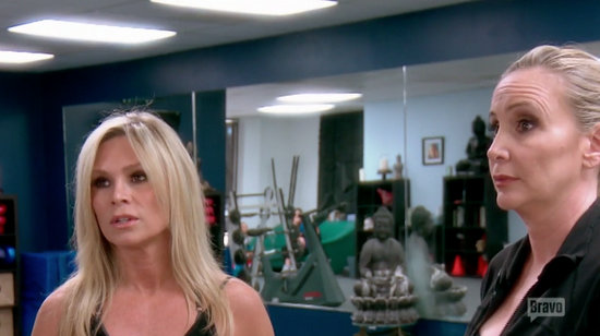 Tamra and Shannon argue about Vicki