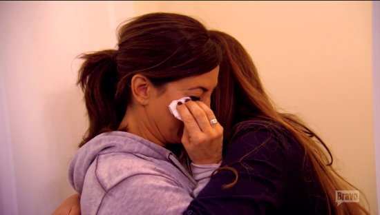 Jacqueline cries over Nick