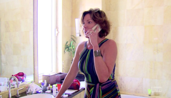Luann confronts Tom