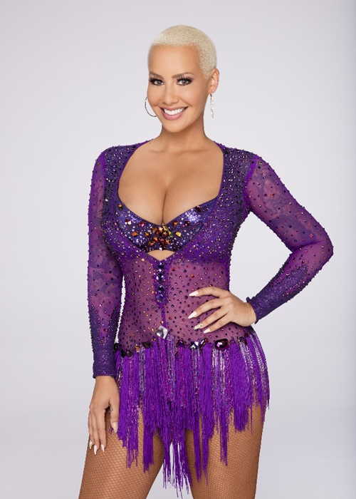 DANCING WITH THE STARS - AMBER ROSE - The stars grace the ballroom floor for the first time on live national television with their professional partners during the two-hour season premiere of