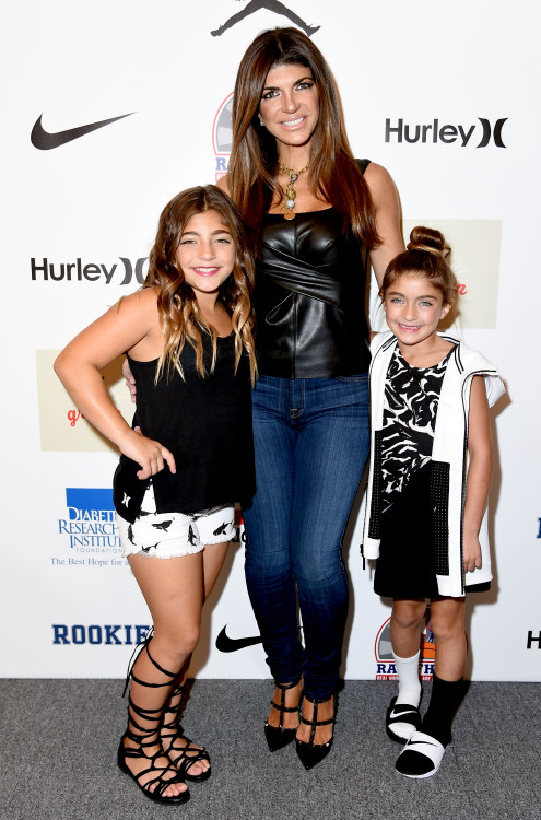 Teresa Giudice and Melissa Gorga at NYFW