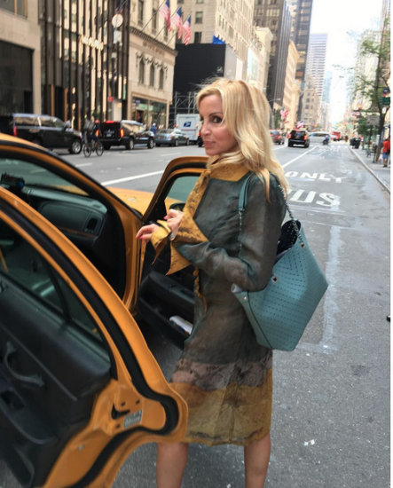 Camille Grammer at NYFW