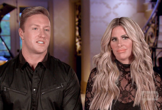 Kroy Biermann and Kim Zolciak Biermann