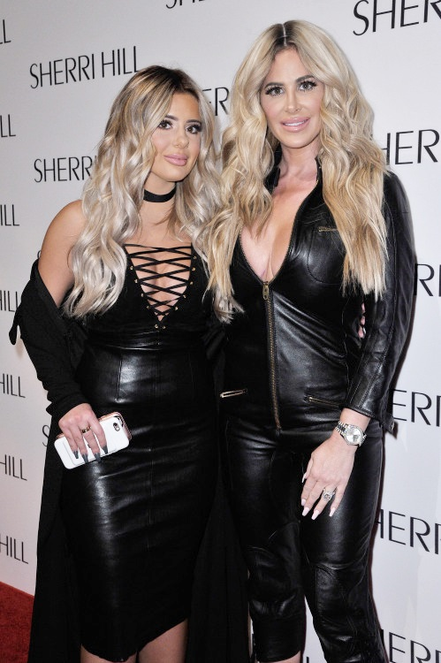New York Fashion Week - Kim Zolciak at Sherri Hill