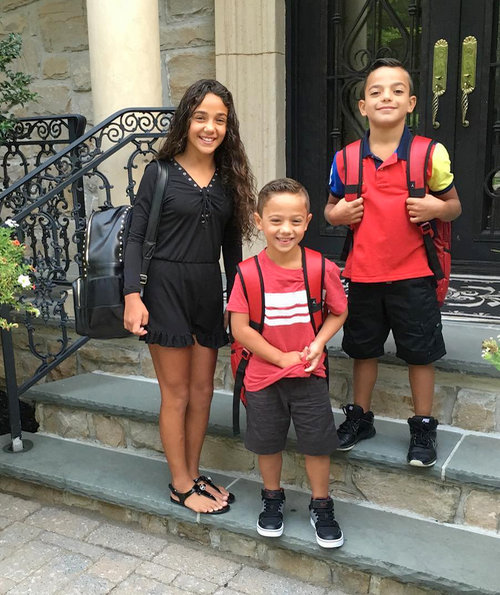 Reality TV Kids Back To School Pics