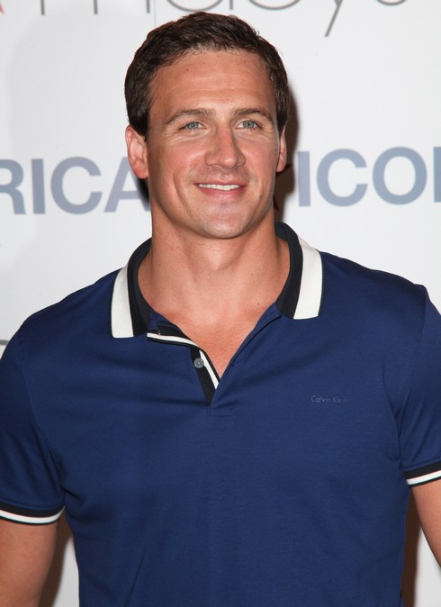 Macy's and Calvin Klein White Label welcome Olympian Ryan Lochte and model Ireland Baldwin to Herald Square @ Calvin Klein Men's Shop Featuring: Ryan Lochte Where: New York City, New York, United States When: 21 May 2014 Credit: PNP/WENN.com