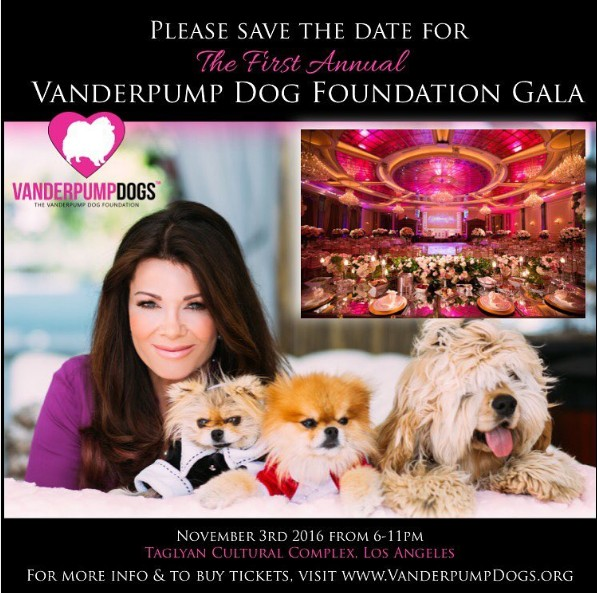 Lisa Vanderpump Dog Foundation Gala