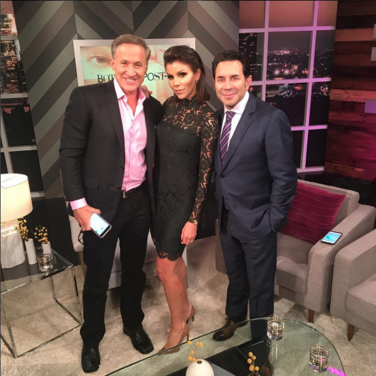 Heather Dubrow with Paul Nassif & Terry Dubrow