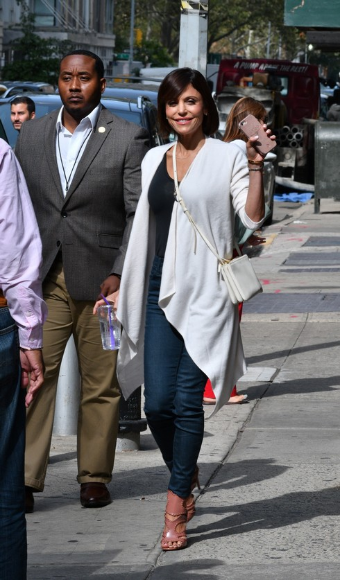 Bethenny Frankel arrives at The Wendy Williams Show Featuring: Bethenny Frankel Where: Manhattan, New York, United States When: 21 Sep 2016 Credit: TNYF/WENN.com
