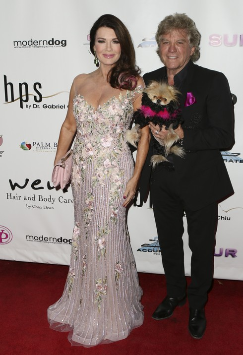 HOLLYWOOD, CA - NOVEMBER 03: Lisa Vanderpump (L) and Ken Todd attend Vanderpump Dogs Foundation Gala at Taglyan Cultural Complex on November 3, 2016 in Hollywood, California. (Photo by Tasia Wells/Getty Images)