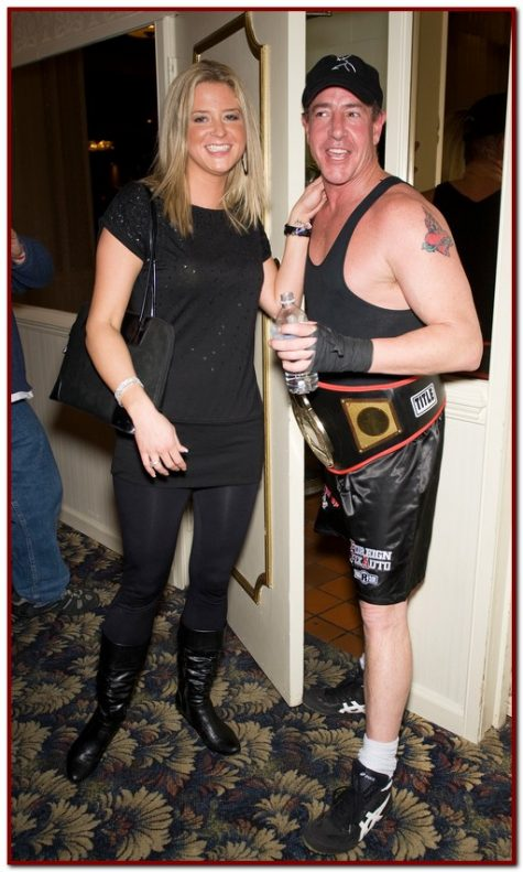 ESSINGTON, PA - JANUARY 15: Michael Lohan and Kate Major attends Celebrity Boxing 16 at the Philadelphia Airport Ramada on January 15, 2010 in Essington, Pennsylvania. (Photo by Gilbert Carrasquillo/Getty Images)