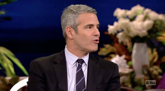 Andy Cohen at RHOC reunion