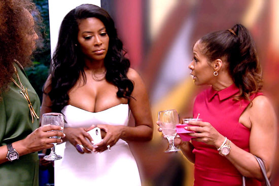 Kenya Moore throws shade at Sheree Whitfield