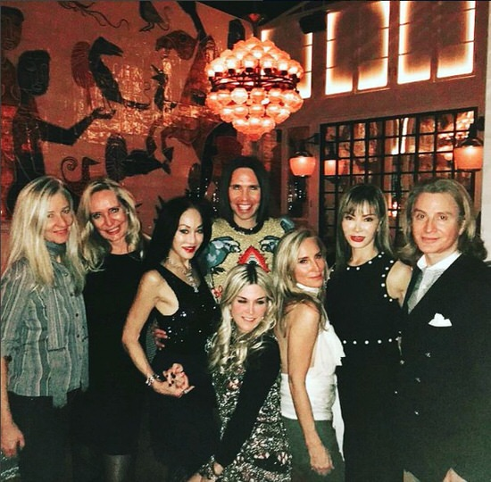Sonja Morgan parties with Tinsley Mortimer