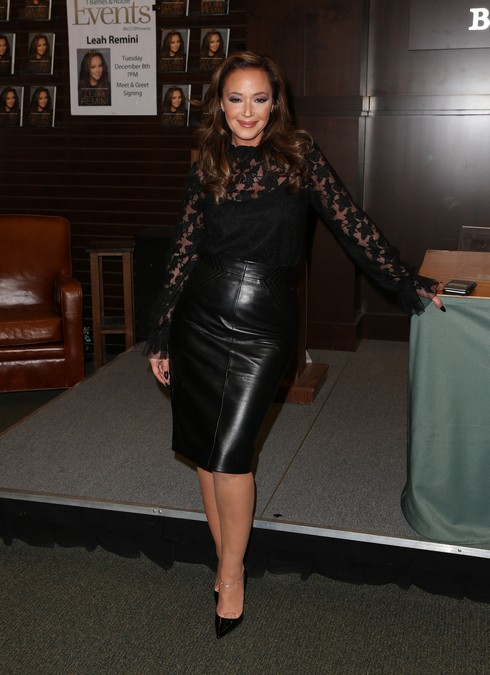 Leah Remini Signs Copies Of Her New Book