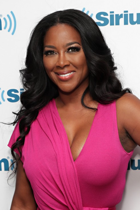 NEW YORK, NY - NOVEMBER 14: TV personality Kenya Moore visits the SiriusXM Studios on November 14, 2016 in New York City. (Photo by Cindy Ord/Getty Images)