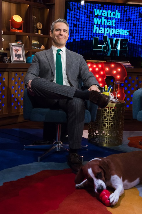 WATCH WHAT HAPPENS LIVE -- Pictured: Andy Cohen -- (Photo by: Charles Sykes/Bravo/NBCU Photo Bank via Getty Images)