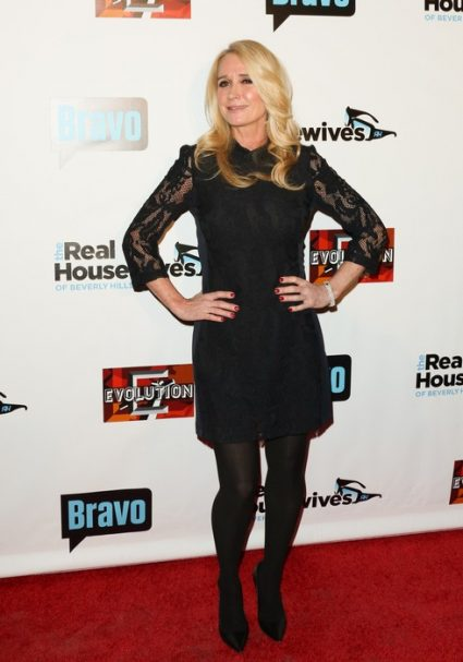LOS ANGELES, CA - DECEMBER 02: Reality TV Personality Kim Richards attends the premiere party for Bravo Networks'