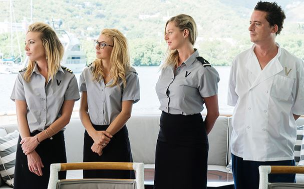 Kate-ChastainEmily-Warburton-Adam-Sierra-Storm-Ben-Robinson-Uniforms-Below-Deck