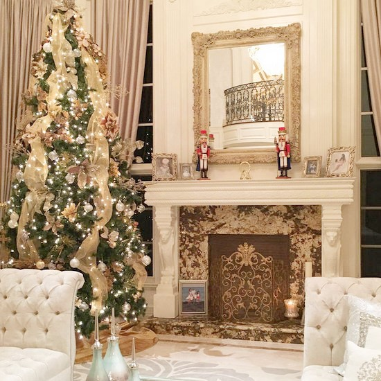 Reality Stars Holiday Decor