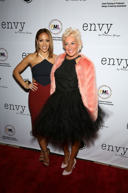 MONTCLAIR, NJ - JANUARY 14: Melissa Gorga and Jackie Beard Robinson attend the Grand Opening of envy by Melissa Gorga Boutique on January 14, 2016 in Montclair, New Jersey. (Photo by Manny Carabel/FilmMagic)