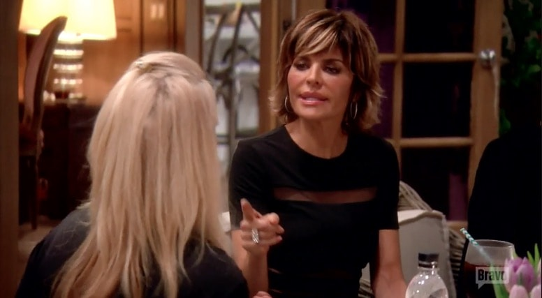 Lisa Rinna confronts Kim Richards