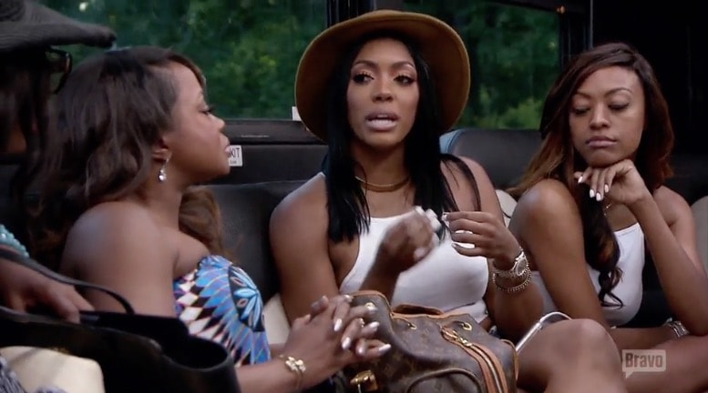 Porsha defends herself again