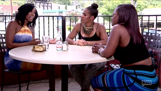 Kandi and Porsha argue over Phaedra