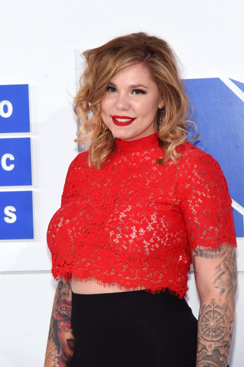 NEW YORK, NY - AUGUST 28: Kailyn Lowry attends the 2016 MTV Video Music Awards at Madison Square Garden on August 28, 2016 in New York City. (Photo by Jamie McCarthy/Getty Images)