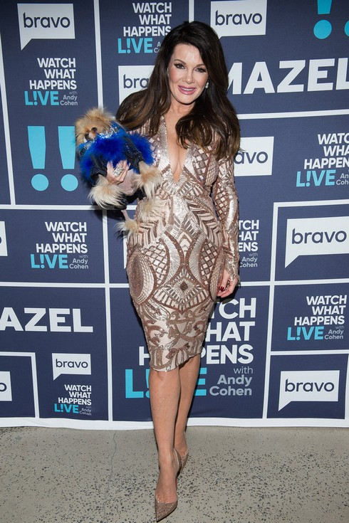 WATCH WHAT HAPPENS LIVE WITH ANDY COHEN -- Episode 14035 -- Pictured: Lisa Vanderpump -- (Photo by: Charles Sykes/Bravo)