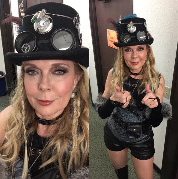 Debra Danielsen as her rap alterego