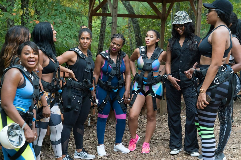 RHOA cast goes Glamping