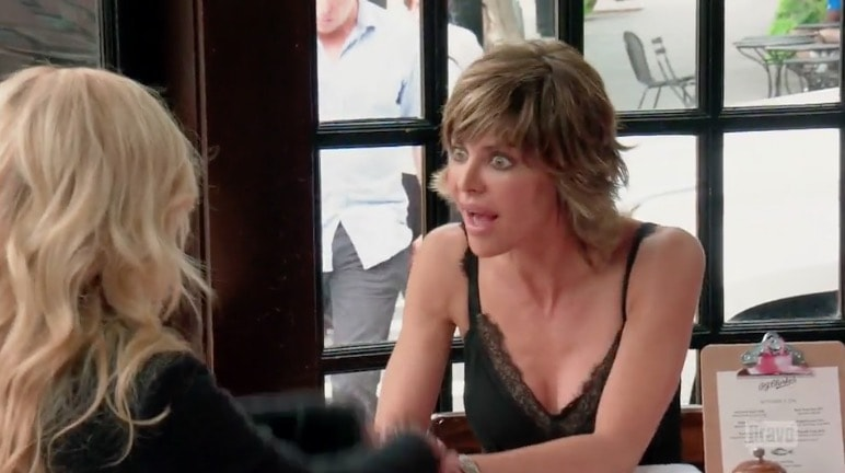 Lisa Rinna in NYC with Camille