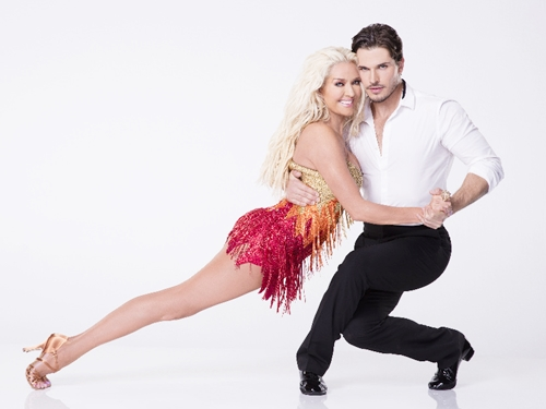 DANCING WITH THE STARS - ERIKA JAYNE WITH GLEB SAVCHENKO - The celebrity cast of