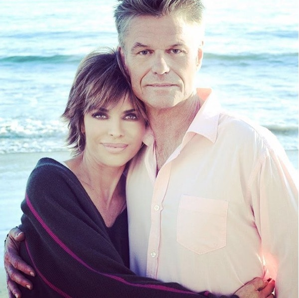 Harry Hamlin & Lisa Rinna