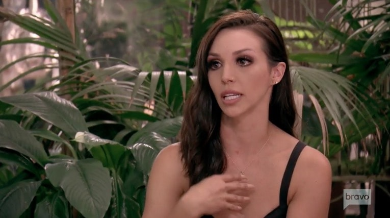 Scheana cries to Katie