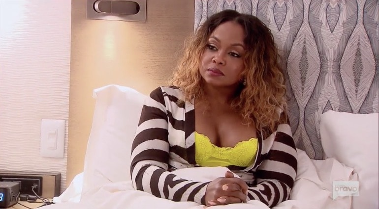 Phaedra still hasn't forgiven Kenya