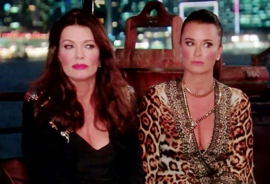 Lisa Vanderpump and Kyle Richards