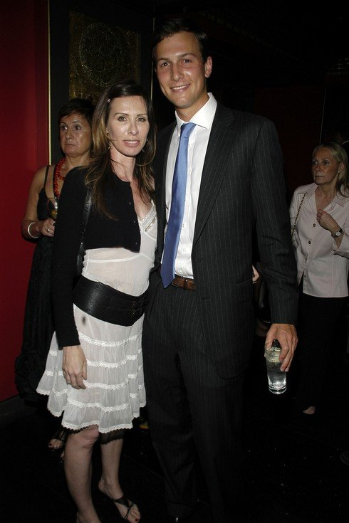 NEW YORK CITY, NY - JUNE 18: Carole Radziwill and Jared Kushner attend Premiere and After Party of