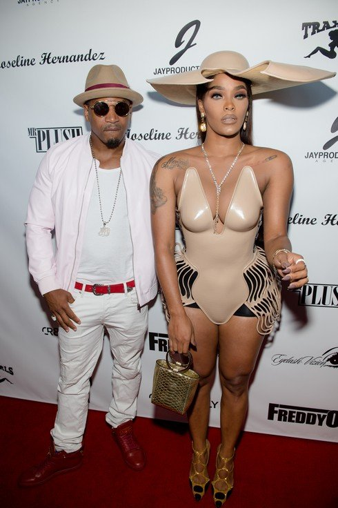 ATLANTA, GA - APRIL 22: Stevie J and TV personality Joseline Hernandez celebrates Hernandez's birthday bash on April 22, 2017 in Atlanta, Georgia. (Photo by Marcus Ingram/Getty Images)