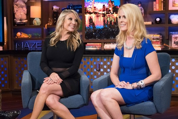 Ramona Singer and Alex McCord on WWHL