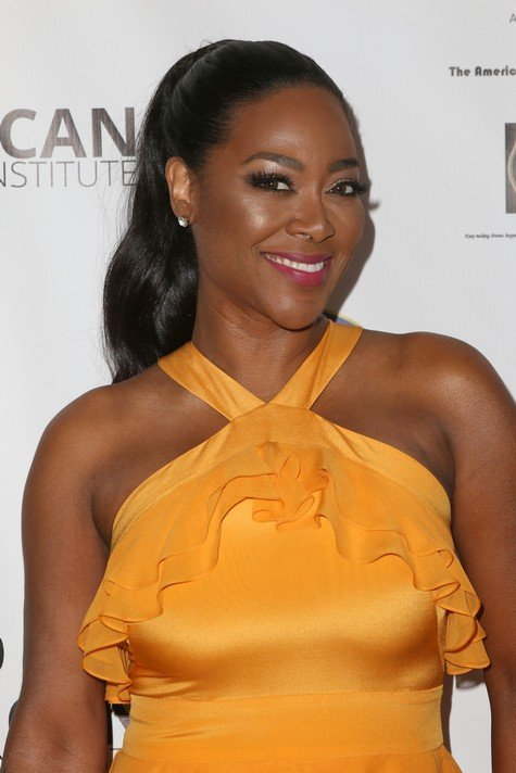 HOLLYWOOD, CA - FEBRUARY 24: Television personality Kenya Moore attends the 2017 Pre-Oscar Gala for the American Black Film aInstitute at Preston's on February 24, 2017 in Hollywood, California. (Photo by Tasia Wells/Getty Images)