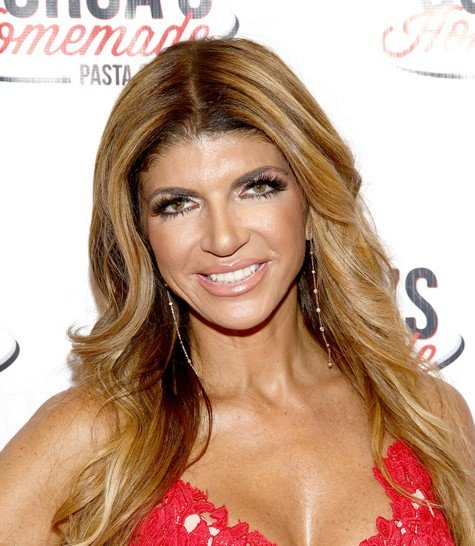EAST HANOVER, NJ - MAY 18:  Teresa Giudice attends the Gorga's Homemade Pasta & Pizza Grand Opening on May 18, 2017 in East Hanover, New Jersey.  (Photo by Paul Zimmerman/Getty Images)