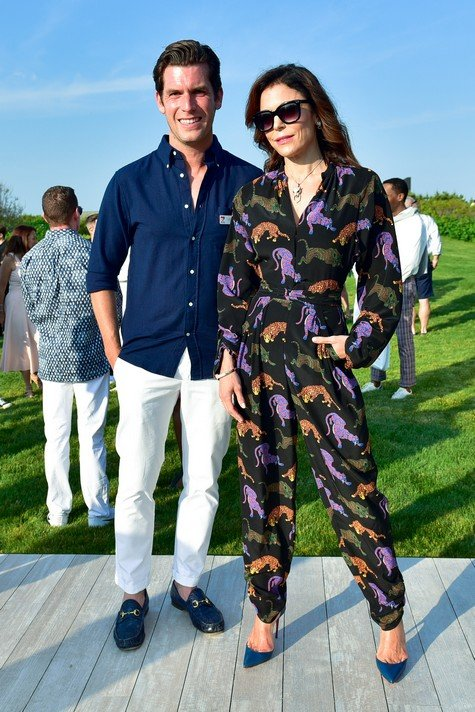 SOUTHAMPTON, NY - JUNE 10: Dan Wright and Bethenny Frankel attend The 17th Annual Midsummer Night Drinks Benefiting God's Love We Deliver at Private Residence on June 10, 2017 in Southampton, New York. (Photo by Sean Zanni/Patrick McMullan via Getty Images)